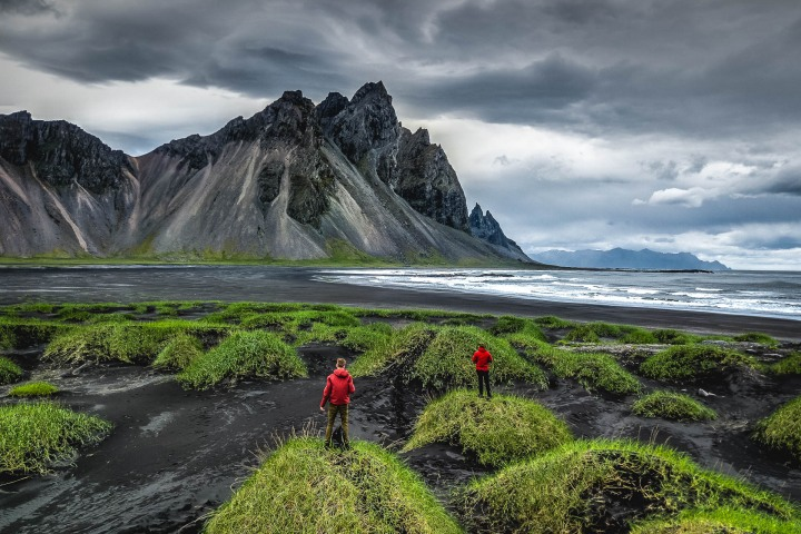 Aerial Photography, AGP Favorite, Europe, Iceland, Mountains, Stokksnes, Travel, volcanic mountains