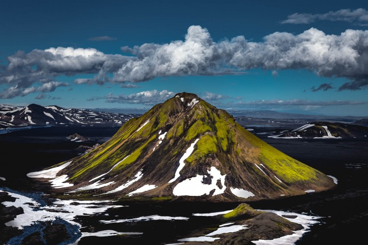 Aerial Photography, AGP Favorite, Ásahreppur, Europe, Fjallabaki, Highlands, Iceland, Maelifell, Travel
