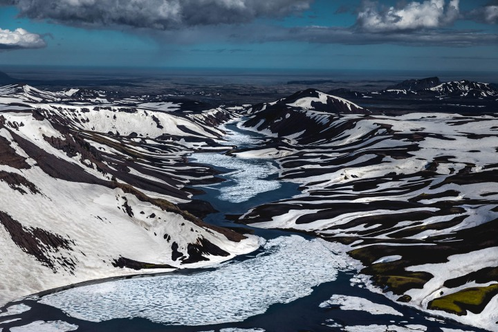 Aerial Photography, Ásahreppur, Europe, Fjallabaki, Highlands, Iceland, Travel