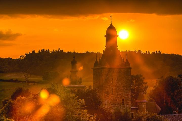 AGP Favorite, Castle, Epen, Europe, Netherlands, Sunset, Travel