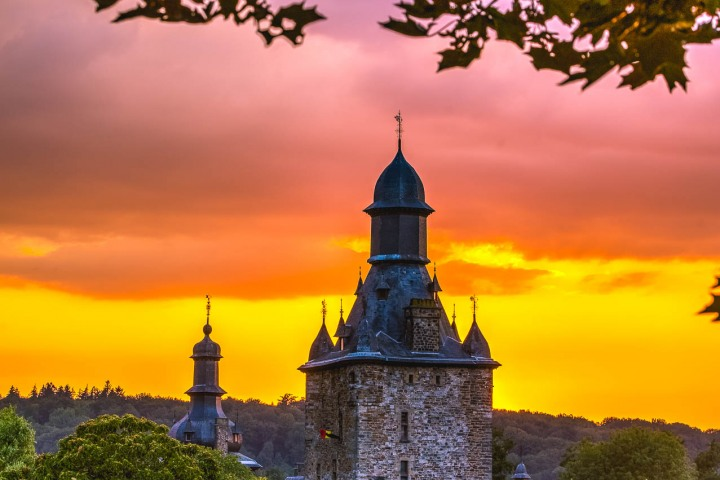 AGP Favorite, Castle, Epen, Europe, Netherlands, Sunset, Travel