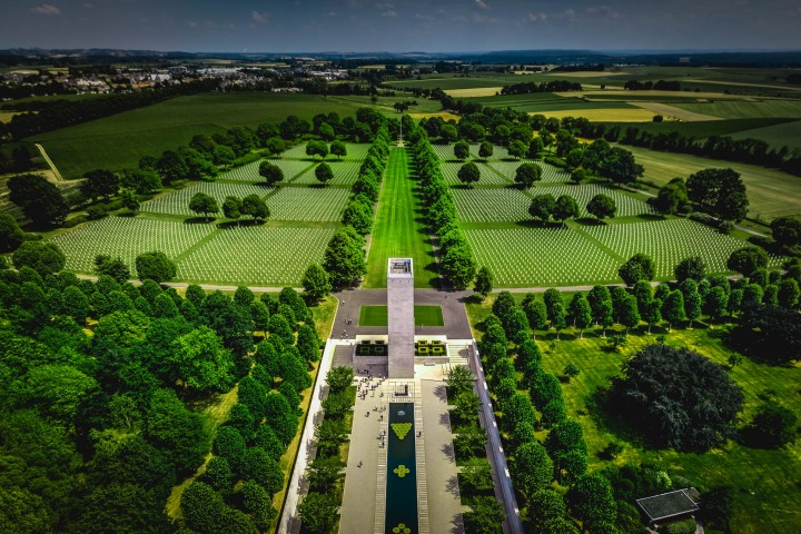 Aerial Photography, AGP Favorite, Europe, Military Cemetery, Netherlands, Travel