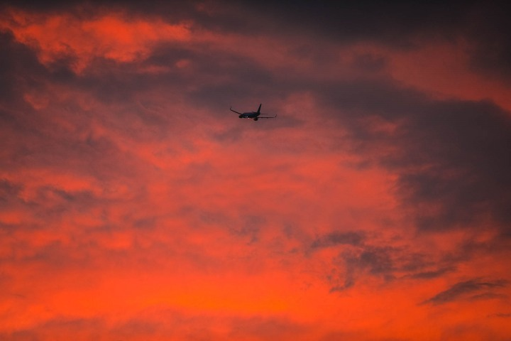 AGP Favorite, Airport, Belgium, Brussels, Europe, Plane, Sunset, Travel