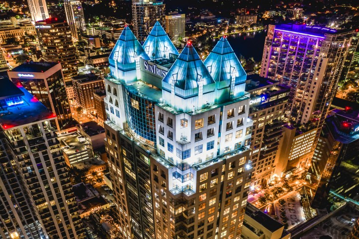 Aerial Photography, AGP Favorite, Downtown, Florida, Long Exposure, North America, Orlando, Travel, United States