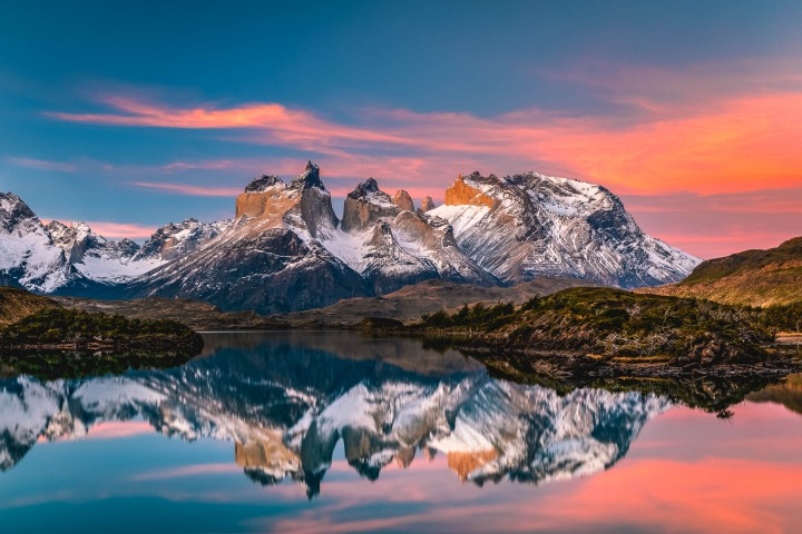 AGP Favorite, Chile, Mountains, Patagonia, South America, Sunset, Torres del Paine, Travel
