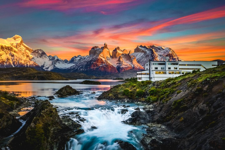AGP Favorite, Chile, Explora, Mountains, Patagonia, South America, Sunrise, Torres del Paine, Travel