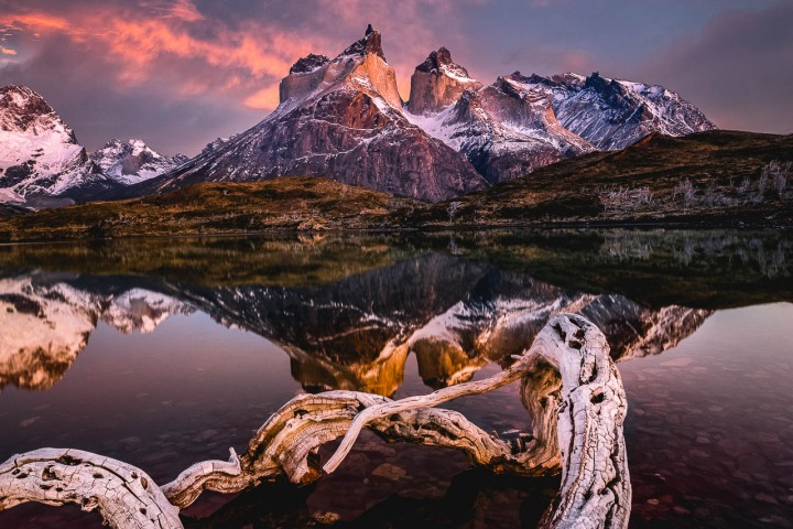 AGP Favorite, Chile, Mountains, Patagonia, South America, Sunrise, Torres del Paine, Travel