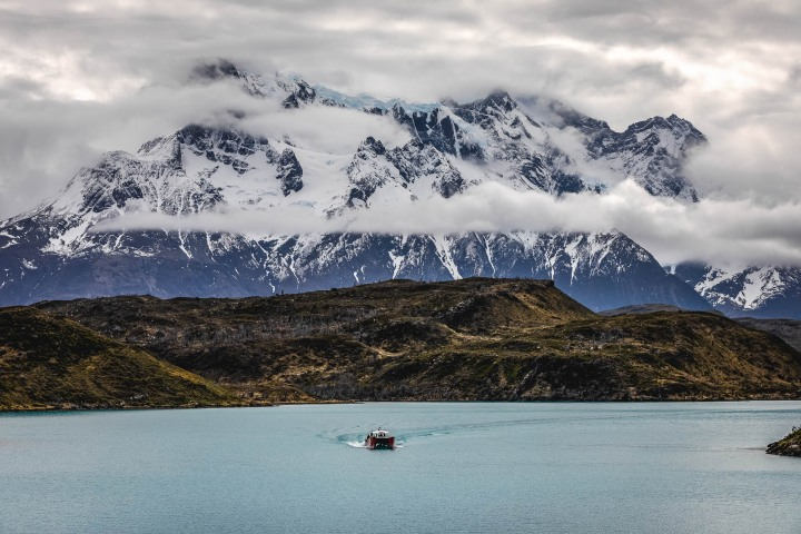 Cerro Paine Grande, Chile, Mountains, Patagonia, South America, Torres del Paine, Travel