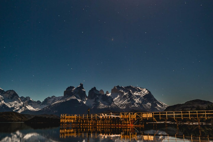 AGP Favorite, Astrophotography, Chile, Long Exposure, Moonlight, Mountains, Patagonia, South America, Torres del Paine, Travel