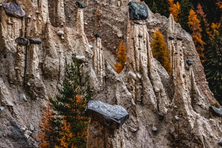 AGP Favorite, Autumn, Dolomites, Europe, Fall Colors, Italy, Piramidi di terra a Perca, South Tyrol, Travel