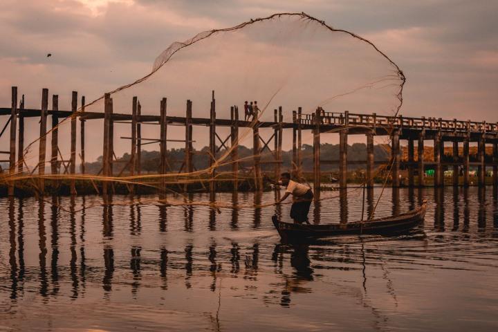 Asia, Burma, Mandalay, Myanmar, Travel, U Bein Bridge
