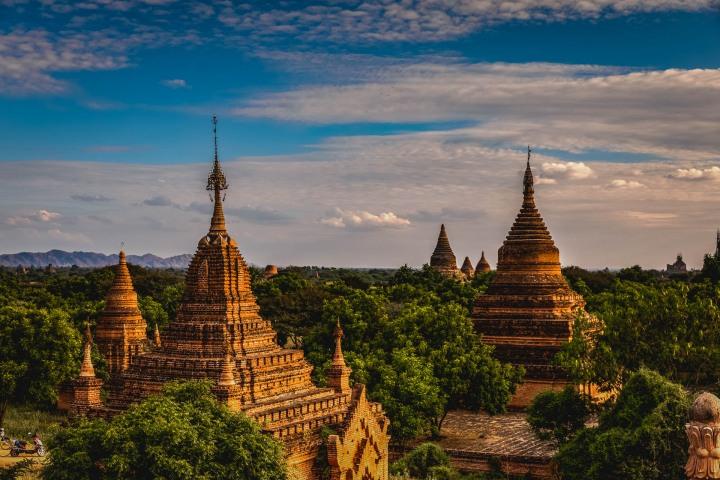 Asia, Bagan, Burma, Myanmar, Old Bagan, Pagoda, Temple, Travel