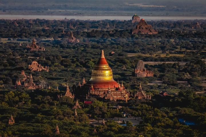 Asia, Bagan, Burma, Dhammayangyi Temple, Dhammayazika Pagoda, Myanmar, Old Bagan, Pagoda, Temple, Travel