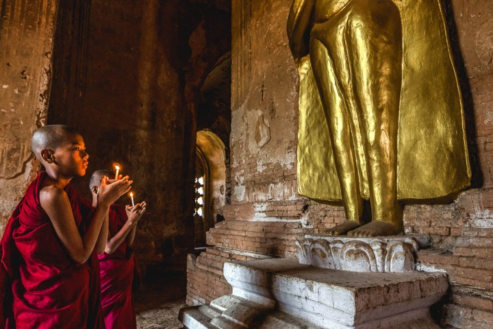 AGP Favorite, Asia, Bagan, Buddhists, Burma, Monk, Myanmar, Old Bagan, Pagoda, Temple, Travel