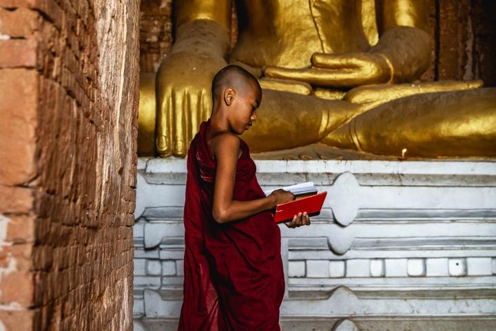 AGP Favorite, Asia, Bagan, Buddhists, Burma, Monk, Myanmar, Old Bagan, Pagoda, Temple, Travel