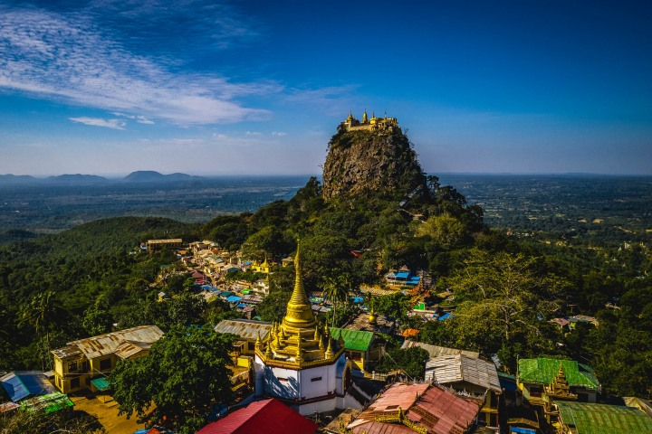 Asia, Burma, Mount Popa, Myanmar, Pagoda, Temple, Travel