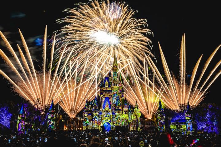 AGP, AGP Favorite, Alex G Perez, Cinderella Castle, Disney, Fireworks, Florida, Long Exposure, Magic Kingdom, North America, Orlando, Travel, United States, www.AGPfoto.com