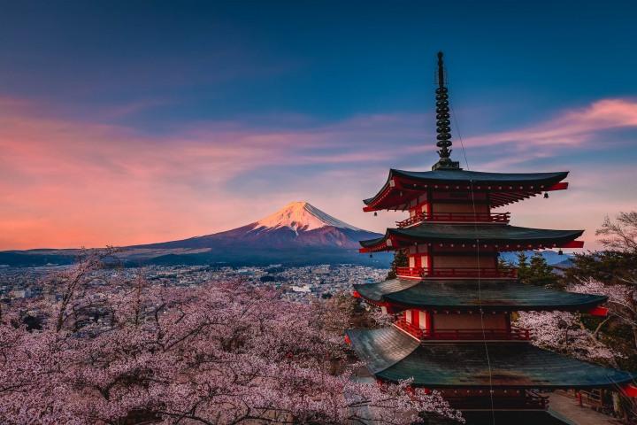 AGP, AGP Favorite, Alex G Perez, Architecture, Asia, Cherry Blossoms, Chureito Pagoda, Fujinomiya, Japan, Landscape Photography, Mount Fuji, Mt Fuji, Pagoda, Sakura, Spring, Sunrise, Travel, www.AGPfoto.com