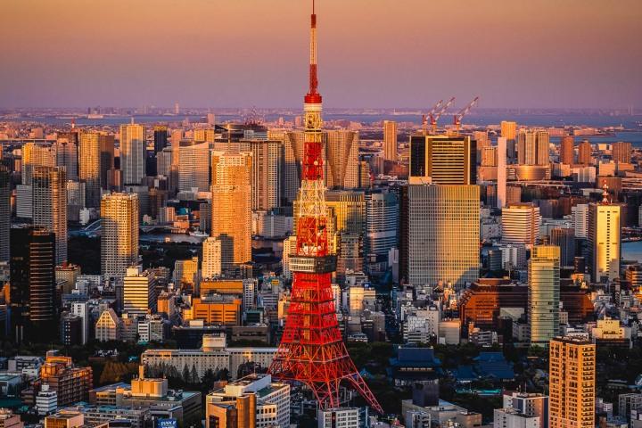 AGP, AGP Favorite, Alex G Perez, Architecture, Asia, Downtown, Japan, Skyline, Sunset, Tokyo, Tokyo Tower, Travel, Urban, www.AGPfoto.com