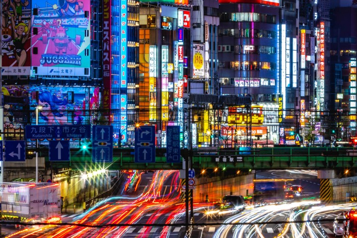 AGP, AGP Favorite, Alex G Perez, Asia, Japan, Long Exposure, Neon Lights, Shinjuku City, Tokyo, Travel, www.AGPfoto.com