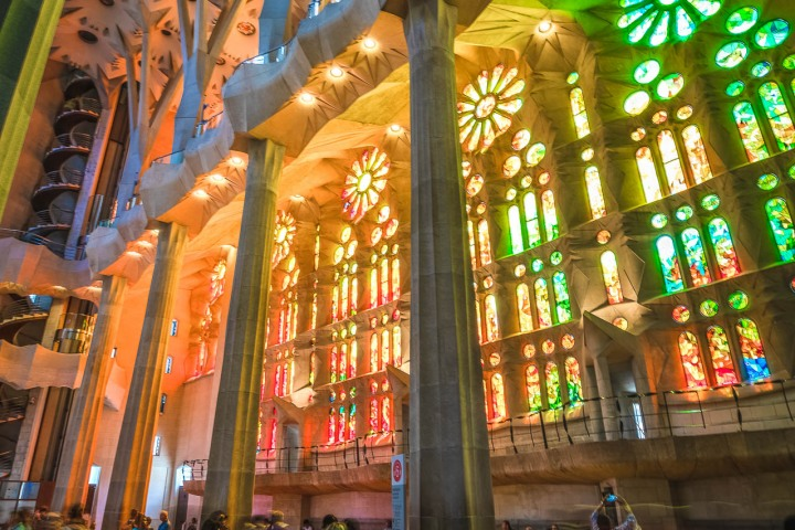 AGP, AGP Favorite, Alex G Perez, Architecture, Barcelona, Cathedral, Europe, La Sagrada Familia, Spain, Stained Glass, Travel, www.AGPfoto.com