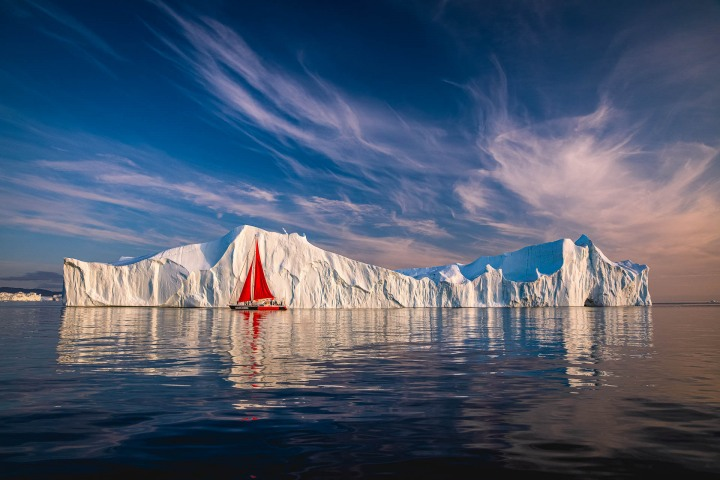 AGP, AGP Favorite, Alex G Perez, Arctic Circle, Greenland, Ice, Iceberg, Ilulissat, Landscape Photography, North America, Reflections, Sail Boat, Travel, www.AGPfoto.com