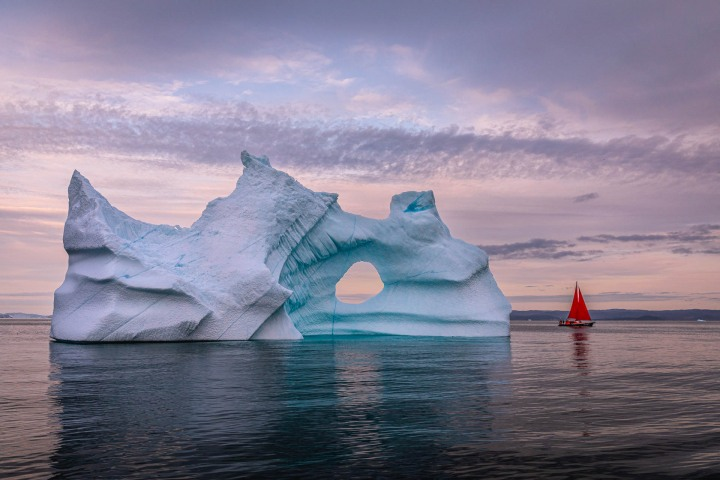 AGP, AGP Favorite, Alex G Perez, Arctic Circle, Greenland, Ice, Iceberg, Ilulissat, Landscape Photography, North America, Sail Boat, Travel, www.AGPfoto.com