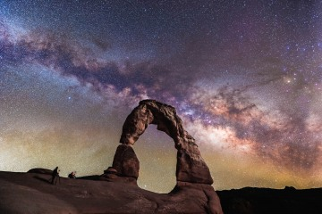 AGP Favorite, Arches National Park, Delicate Arch, Milky Way Photography, Moab, North America, Stars, Travel, Utah